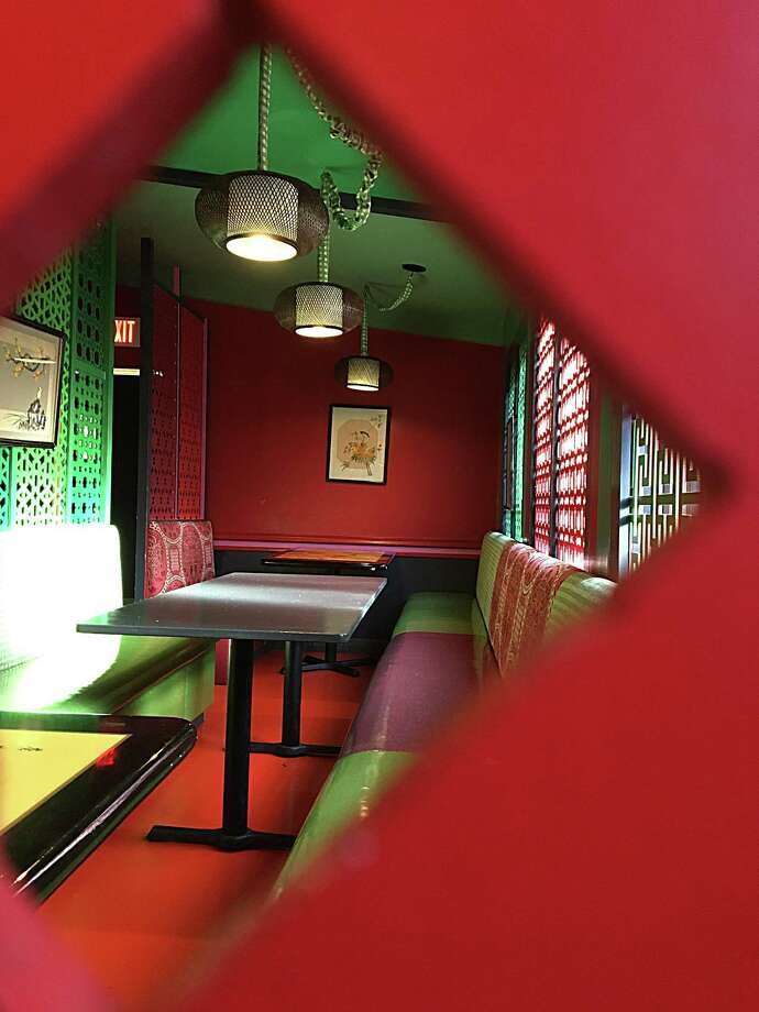 One of many intimate dining spaces at Hot Joy on South Alamo Street. Photo: Mike Sutter /San Antonio Express-News