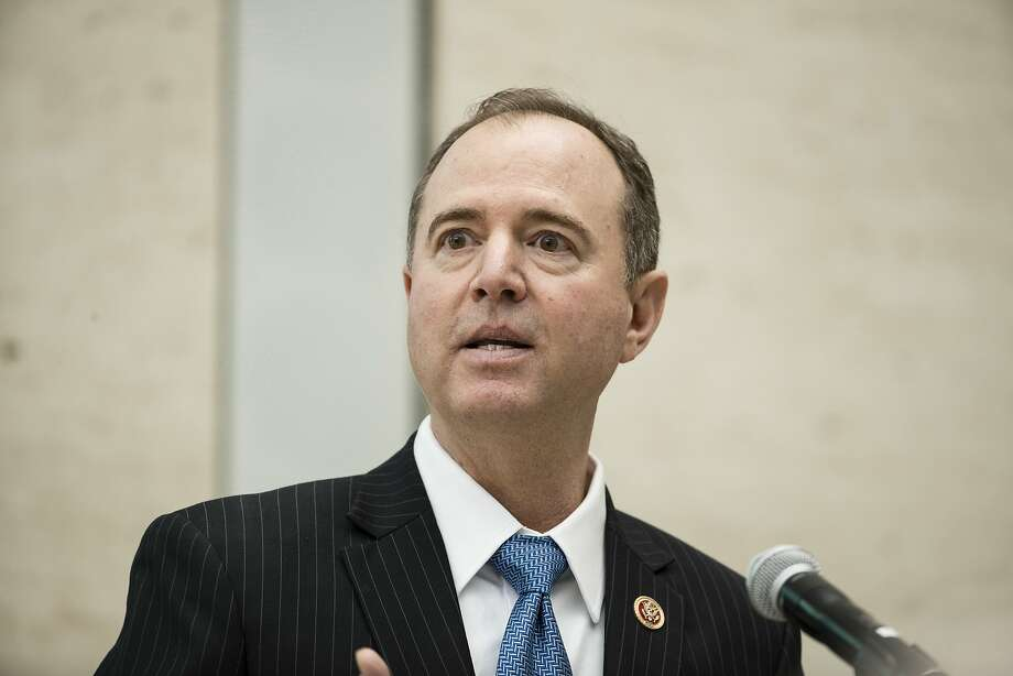 "Rep. Adam Schiff, D-Burbank, says the goal of the GOP memo was to ""do the president's bidding."" Photo: Matt Rourke, Associated Press"