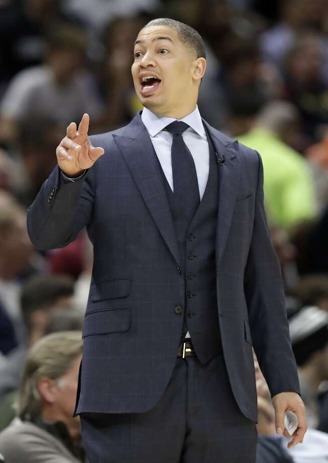 Tyronn Lue's coaching job is safe for now. Photo: Tony Dejak, Associated Press
