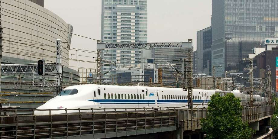 Texas Central plans to use Japanese style Shinkansen bullet trains, which have been used in Japan for a half-century. Photo: Texas Central Partners