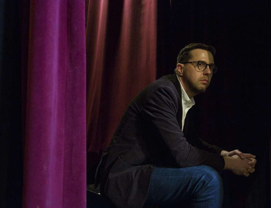 Jon-Marc McDonald, a native of Ft. Worth and Columbia University MFA candidate, has written a play based on his personal experience of being blackmailed for his sexual preference at the time of the James Byrd hate crime in Jasper, Texas. The play titled 'Relatively Concious' will premier Tuesday at the New York Theater Festival's Winterfest showcase.    Ben Sklar for The Houston Chronicle Photo: Ben Sklar / Ben Sklar For The Houston Chronicle