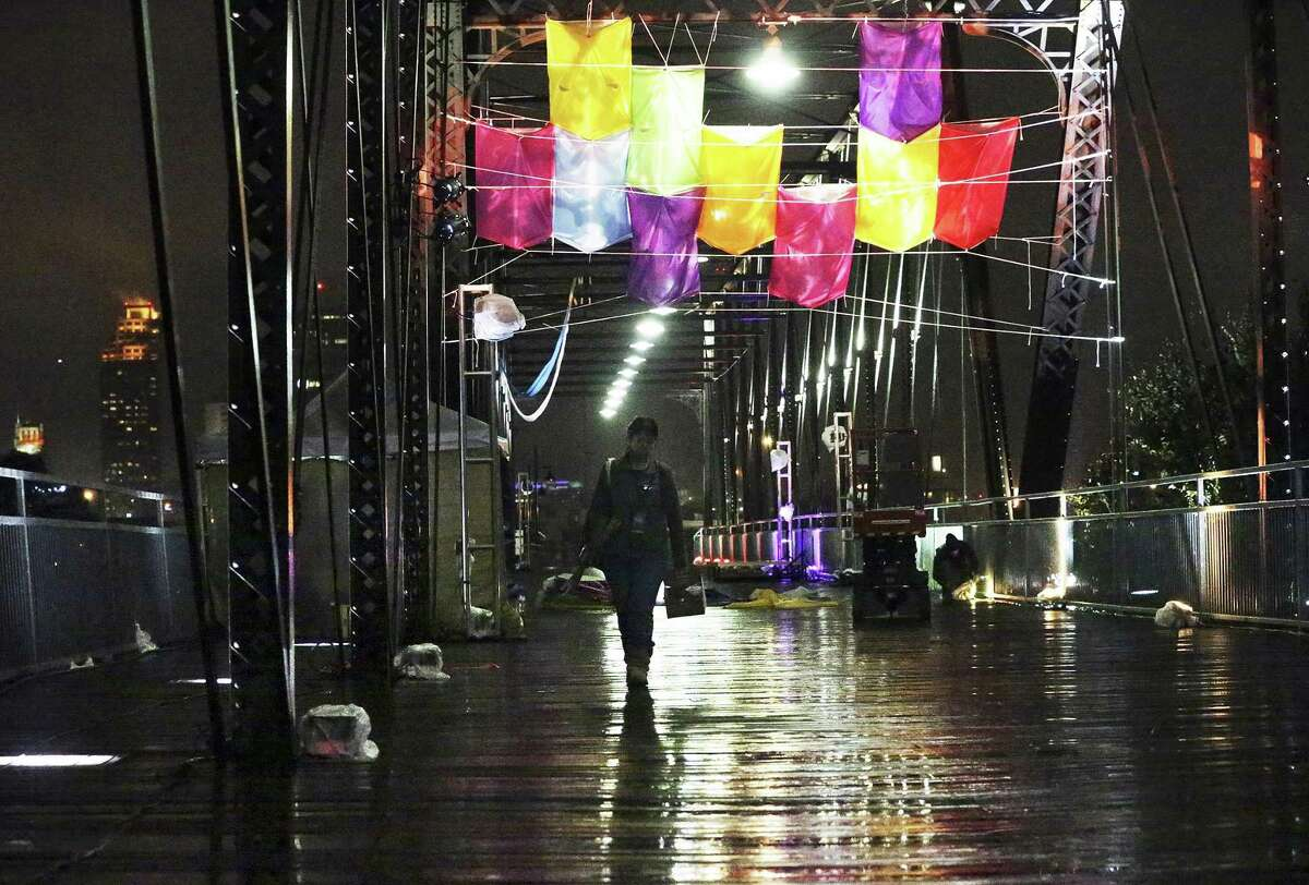 """Luminaria """"Luminaria, San Antonio's annual free contemporary arts festival (Nov. 10-11) will take place in Hemisfair and other downtown venues."""" Source:Travel and Leisure Magazine"""
