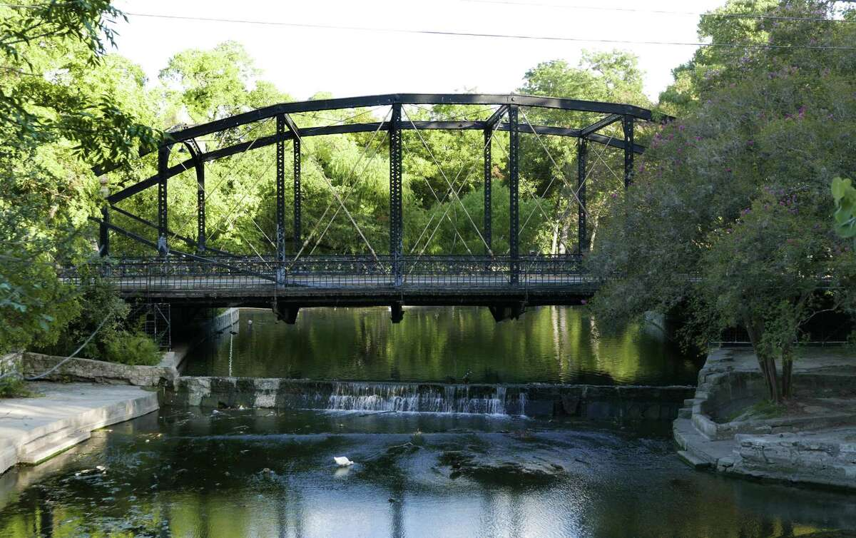 The Brackenridge Park Bridge was built in 1890 by the Berlin Iron Bridge Co. The park's conservancy group has laid out a plan to preserve the park for thousands of years.