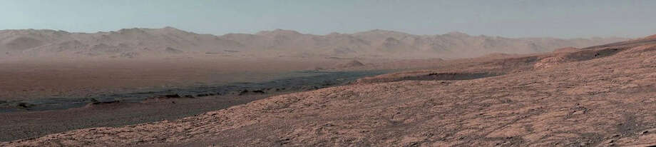 Curiosity's 11-mile journey through Mars. MUST CREDIT: NASA Photo: NASA / NASA