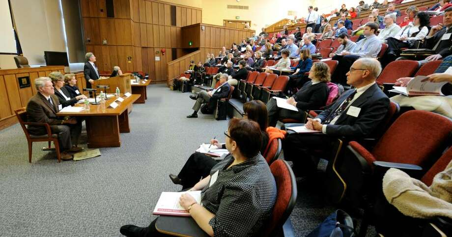 Albany Law School hosted a conference on ?E-FOIL 2009: Issues of Access in Digital Age? to address open government issues Friday. One solution to a deluge of freedom of information requests for government information is to make it all public on the Internet at the time it is generated as a routine matter.(Skip Dickstein/Times Union) Photo: SKIP DICKSTEIN / 2008