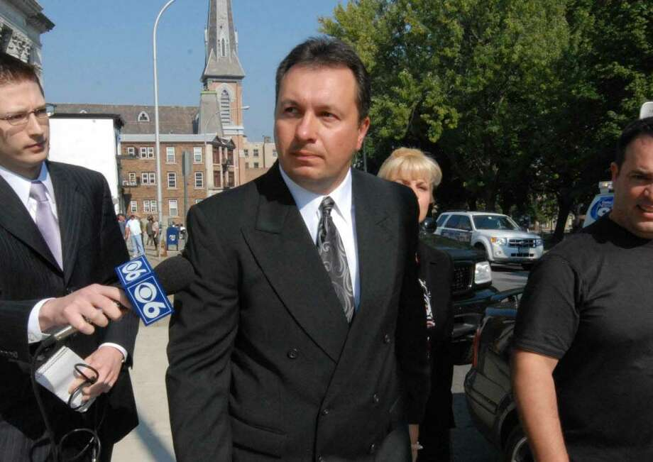 Officer Andrew Karaskiewicz was fired Thursday, June 3, 2010, by Schenectady Mayor Brian U. Stratton for his alleged handling of the arrest of a man who accused police of brutalizing him. (Michael P. Farrell / File photo)