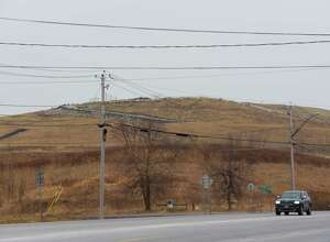 A view of the Colonie town landfill on Sunday, Feb. 4, 2018, in Colonie, N.Y. (Paul Buckowski/Times Union)
