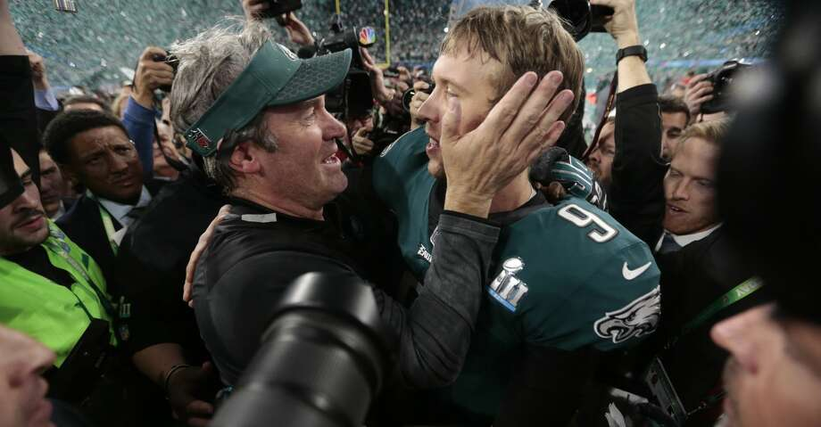 Eagles coach Doug Pederson didn't hesitate to be bold against the Patriots, something New England's opponents haven't done much of in recent years. Photo: AJ MAST/NYT