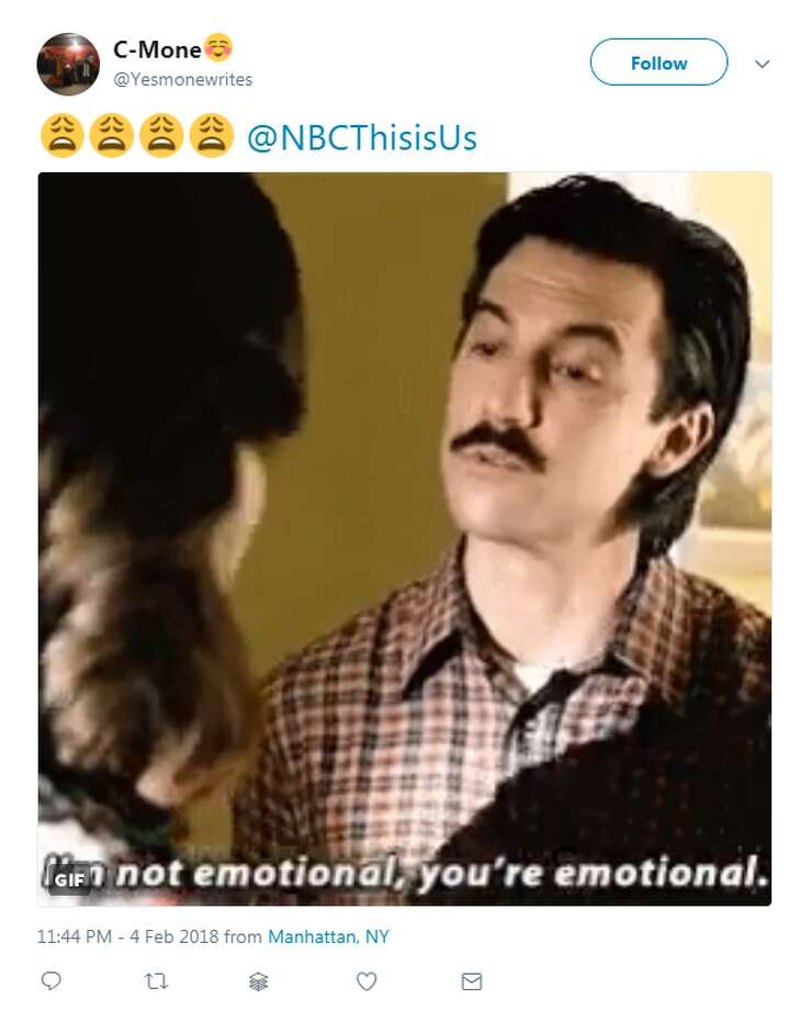 "Fans took to Twitter to express their feelings over a special ""This is Us"" episode that finally revealed how Jack died.Photo: Twitter Photo: Twitter"