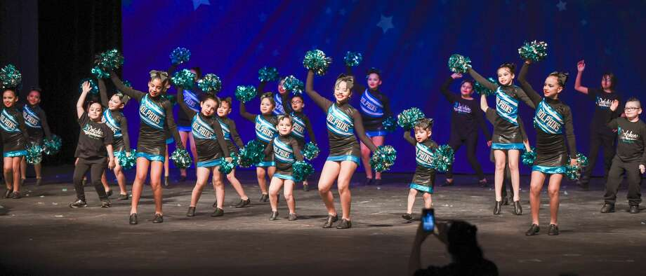Students from Laredo area schools participate in the WBCA Youth Song and Dance Festival on Saturday, Feb. 3, 2018, at the Laredo ISD Civic Center. Photo: Danny Zaragoza/Laredo Morning Times