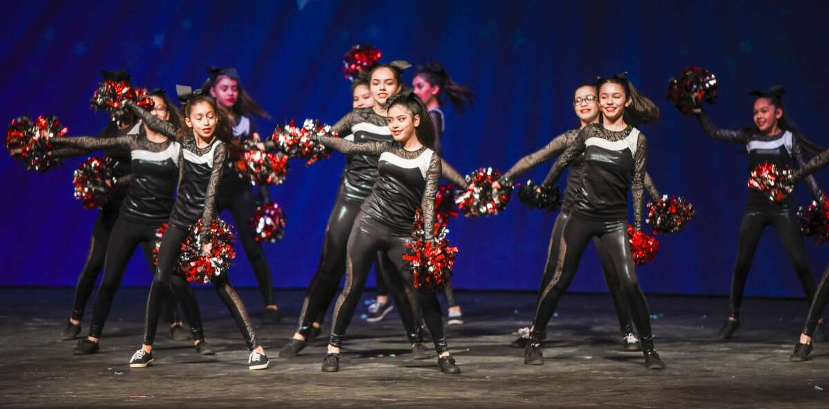 Students from Laredo area schools participate in the WBCA Youth Song and Dance Festival on Saturday, Feb. 3, 2018, at the Laredo ISD Civic Center.