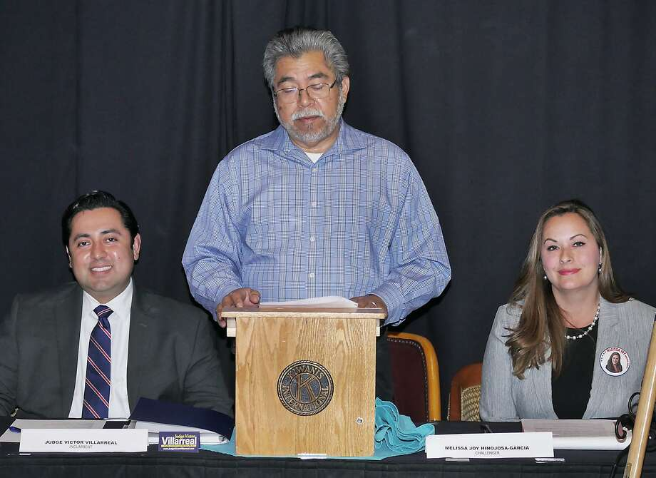 Hinojosa-Garcia, Photo: Cuate Santos / Laredo Morning Times / Laredo Morning Times