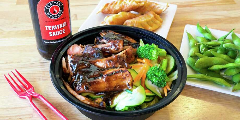 Teriyaki Madness, a new Asian grill specializing in made-to-order teriyaki bowls, is opening Feb. 5 at 13410 Briar Forest Dr., Houston. Shown: Teriyaki chicken bowl. Photo: Teriyaki Madness