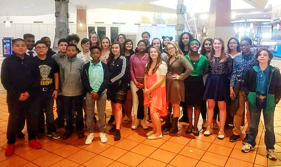 Students at Liberty Middle School recently competed at UIL Solo and Ensemble contest and brought home 23 gold and four silver medals. Photo: Submitted