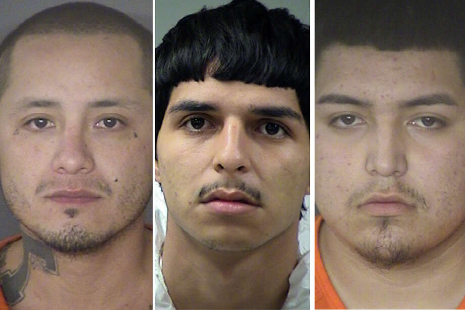 The three suspects – Richard Montez, 33; Andres Martinez, 20; and Juan Martinez, 18; and  – have since been arrested on charges of aggravated assault in connection with the shooting. It's likely those charges will be upgraded to murder in light of Gabara's death. Photo: Bexar County Jail