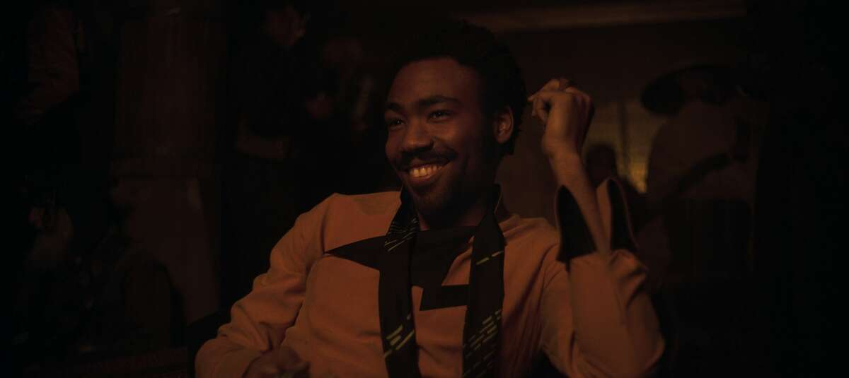 Donald Glover is Lando Calrissian in