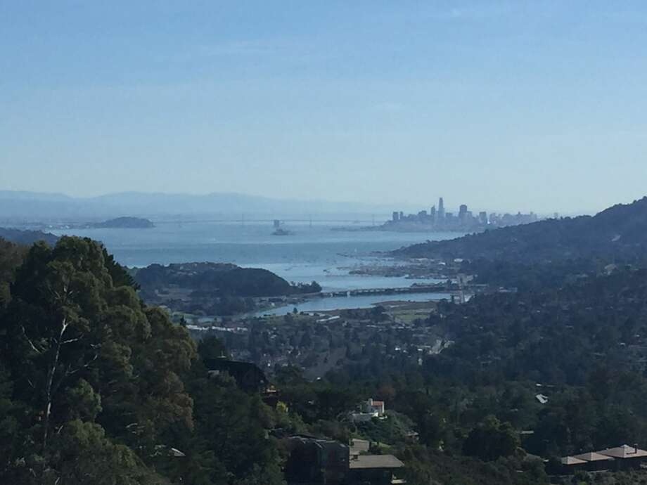 The San Francisco Bay Area saw unseasonably warm temperatures on Feb. 4, 2019. Photo taken from Mount Tamalpais in Mill Valley. Photo: Amy Graff