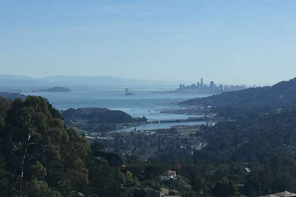 The San Francisco Bay Area saw unseasonably warm temperatures on Feb. 4, 2019. Photo taken from Mount Tamalpais in Mill Valley.