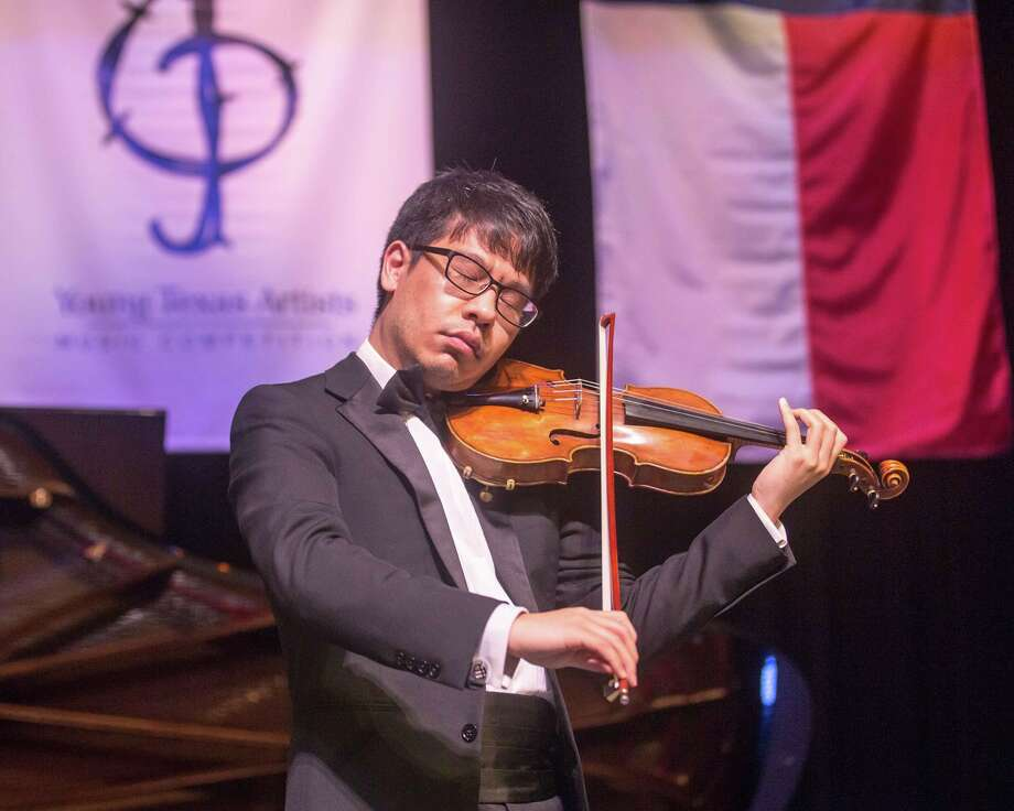 """Douglas Kwon was the 2017 Grand Prize winner of the Young Texas Artists Music Competition held the second weekend of March each year in Conroe. Kwon will perform with the Conroe Symphony Orchestra Saturday in their """"Love is Always in the Air"""" concert at Conroe High School."""