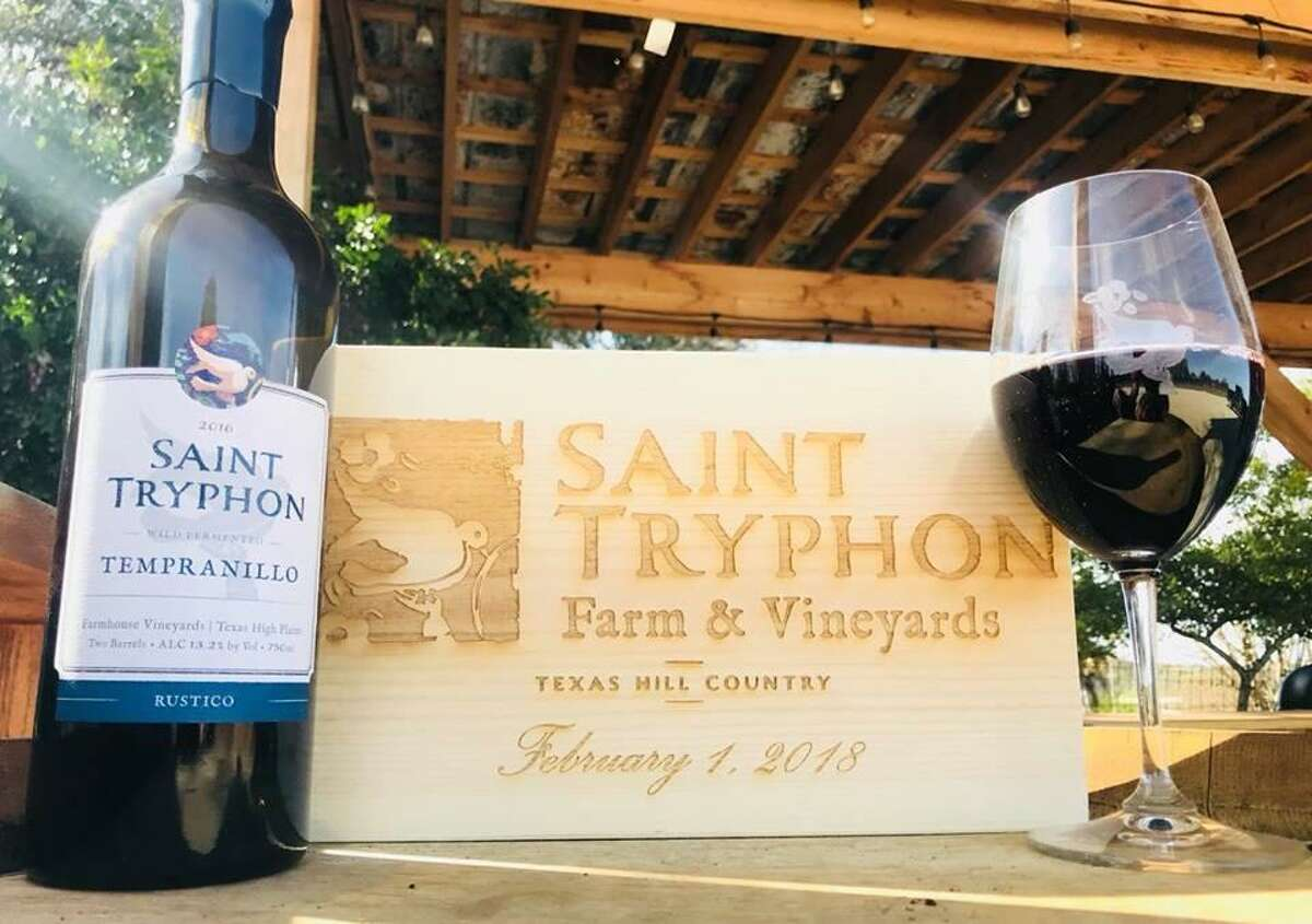 Saint Tryphon Farm & Vineyards is now open at 24 Wasp Creek Road in Boerne.