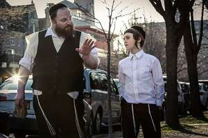 A scene from the film 'Menashe'