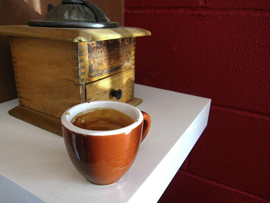Espresso from What's Brewing Coffee Roasters on West Rhapsody Drive. Photo: Mike Sutter /San Antonio Xpress-News