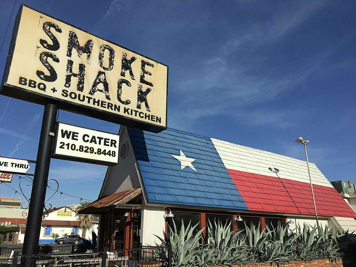 With its giant Texas flag roof, Smoke Shack BBQ on Broadway in San Antonio is hard to miss. A second location will be opening soon inside the San Antonio International Airport.