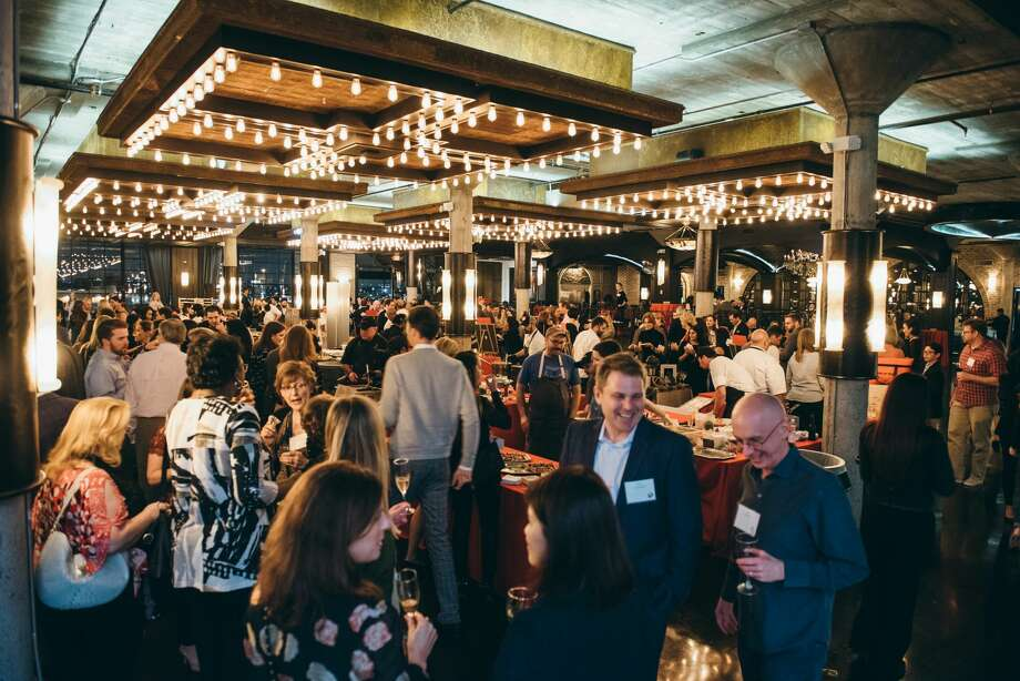 More than 300 guests were treated to delectable bites from Houston's most notable chefs at the third annual Cooking Up A Cure. Photo: Chinh Phan