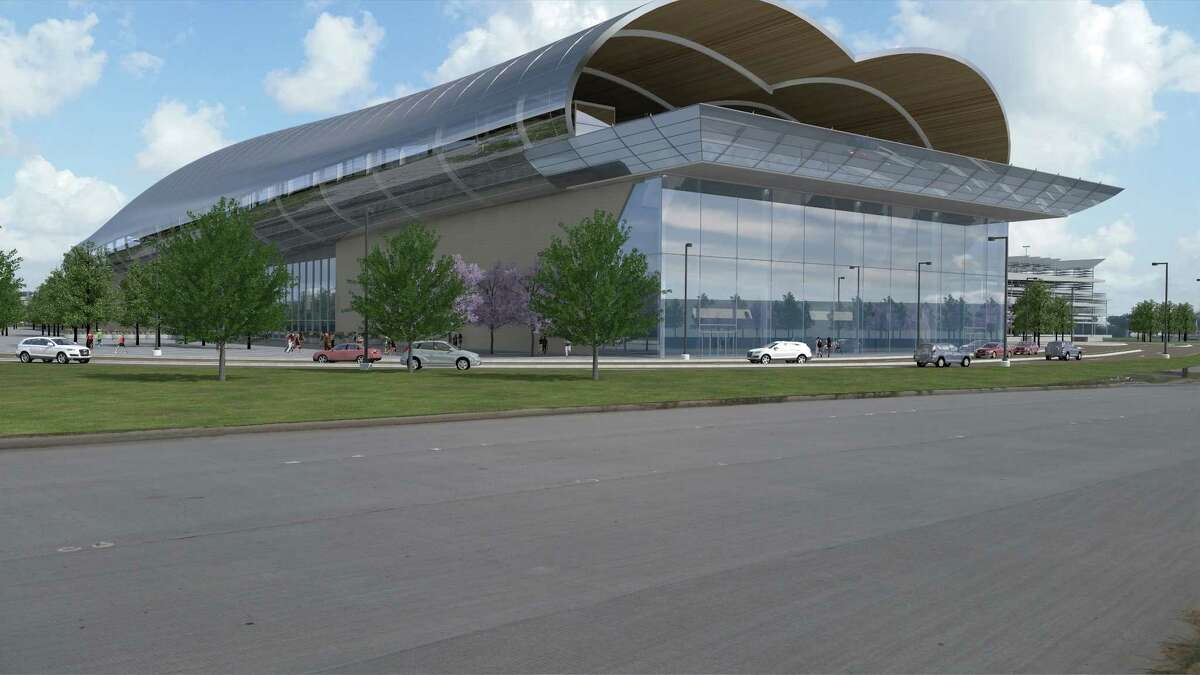 Texas Central Partners announced Feb. 5, 2018, it had chosen Northwest Mall as its preferred high-speed rail station in the Houston area. Renderings of the station were unveiled during the announcement.