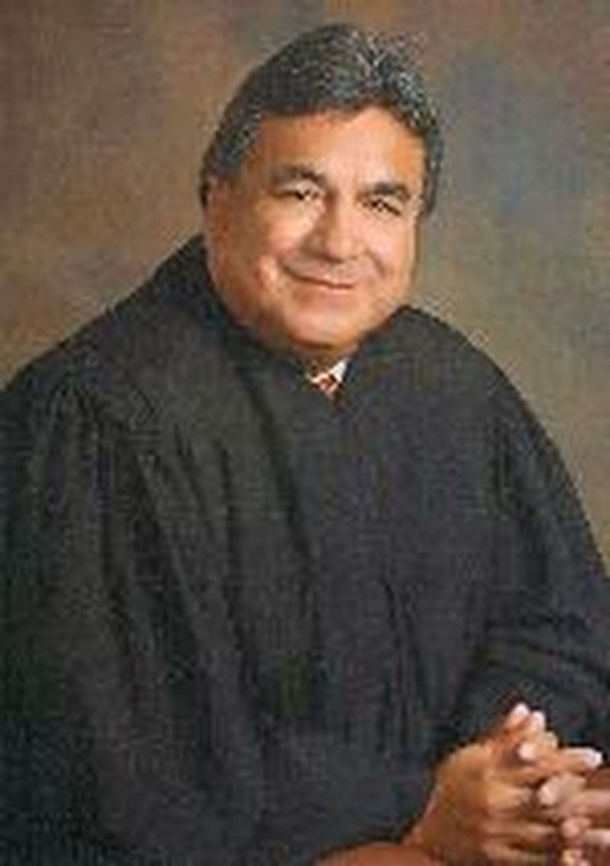 """District Judge Rodolfo """"Rudy"""" Delgado is seen in an undated photo taken from the 93rd District Court website. He is charged with bribery, according to FBI officials."""