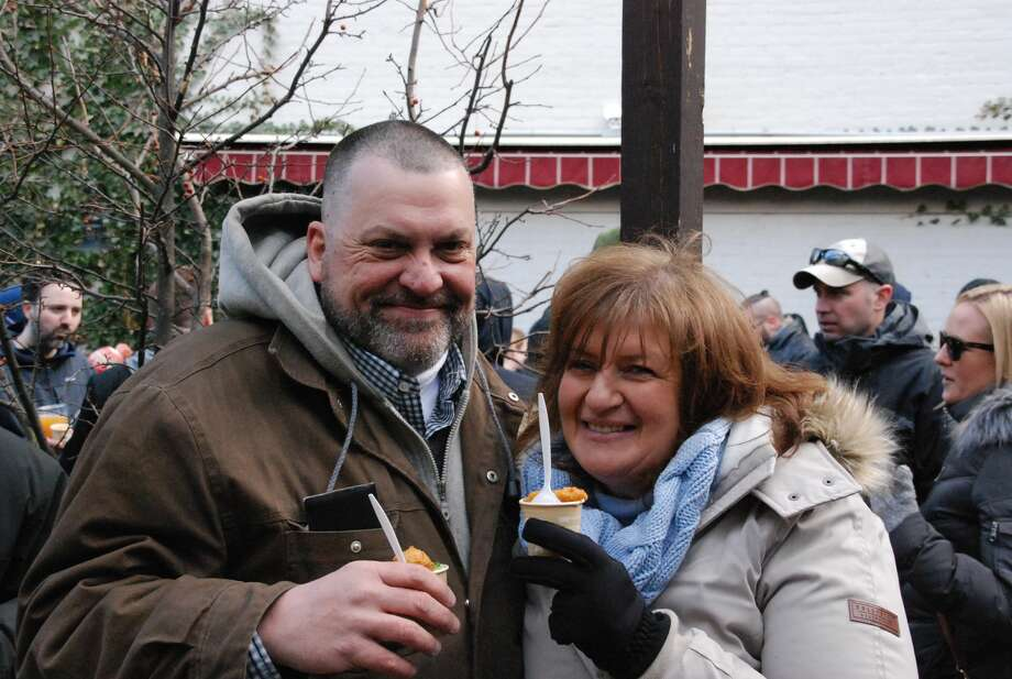 Were you Seen at the 20th Annual Saratoga Chowderfest in downtown Saratoga Springs on Feb. 3, 2018? Photo: Anthony LaTerra