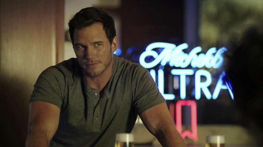 "This image released by Anheuser-Busch shows actor Chris Pratt in a scene from a Michelob Ultra commercial. Pratt, the star of the ""Jurassic World"" and ""Guardians of the Galaxy"" film franchises, will make his advertising debut on Super Bowl Sunday, Feb. 4, 2018, in a pair of commercials for the light beer. Photo: /Associated Press / Anheuser-Busch"