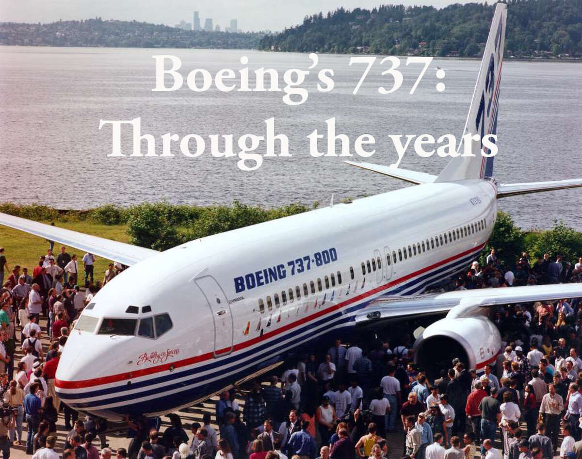 Click through to take a peek at Boeing's 737 over the years.