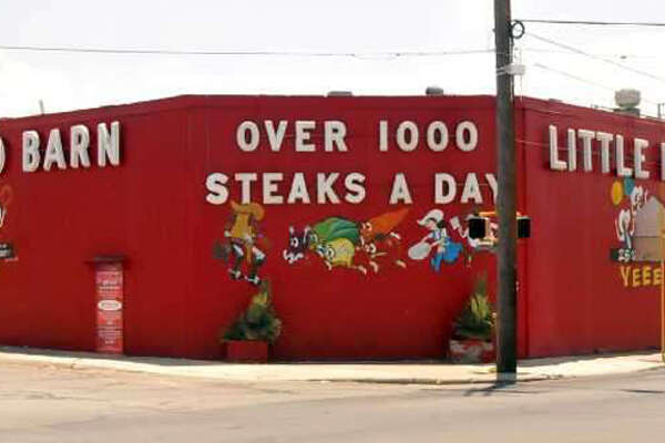 Little Red Barn Steakhouse is located at 1836 S Hackberry St, San Antonio, TX 78210. The cross Street is Rigsby Ave. (210) 532-4235 CLICK HERE TO VISIT US!