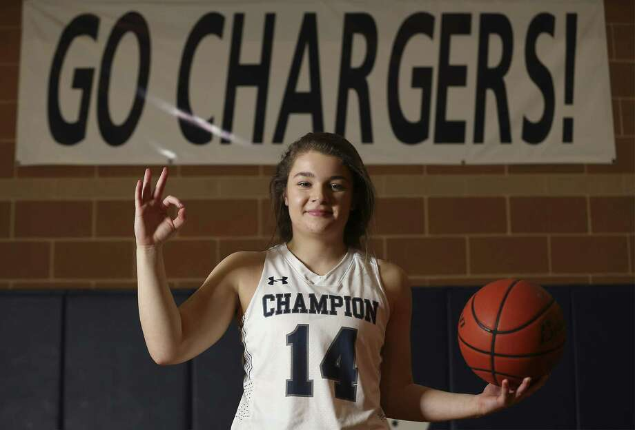 Boerne Champion senior Katlyn Ghavidel, according to records, is believed to be Texas' all-time girls leader in 3-pointers. The University Interscholastic League will be marking its 30th anniversary of the adoption of the 3-pointer in high school basketball. (Kin Man Hui/San Antonio Express-News) Photo: Kin Man Hui, Staff / San Antonio Express-News / ©2018 San Antonio Express-News