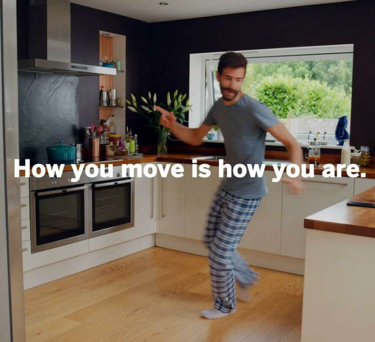 """Hospital for Special Surgery's TV ad for its """"How You Move"""" campaign debuted during the Grammy Awards on Jan. 28, 2018."""