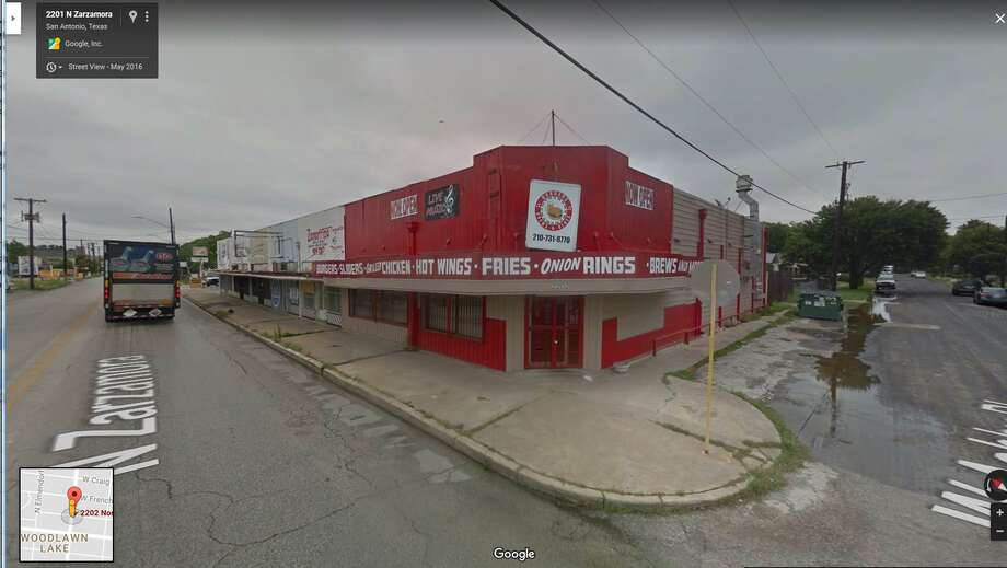 According to a legal notice, Diana Madrid has applied for a mixed beverages permit with the Texas Alcoholic Beverage Commission for the property at 2202 N. Zarzamora. Diana is the sister of the late Chris Madrid, founder of the iconic burger restaurant on 1900 Blanco Road. Photo: Google Streetview
