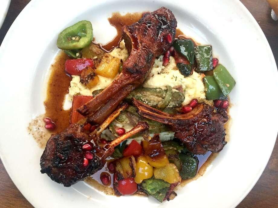Achiote-spiced lamb chops at Boudro's. Photo: Paul Stephen /San Antonio Express-News