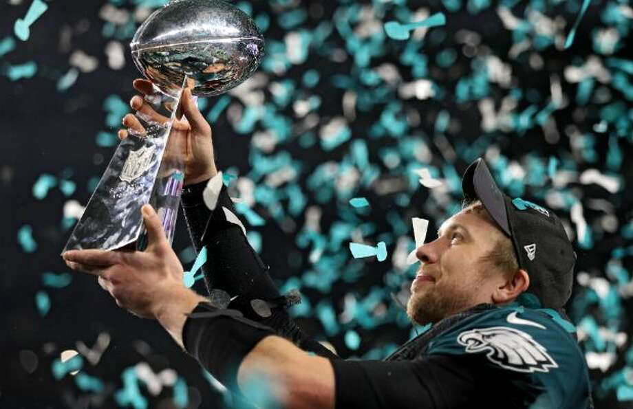 A bet that the Eagles' Nick Foles would be named Super Bowl MVP would have paid off handsomely Sunday in Las Vegas. You would have tripled your money. CLICK THROUGH TO SEE SOME OF THE SUPER BOWL PROP BETS.