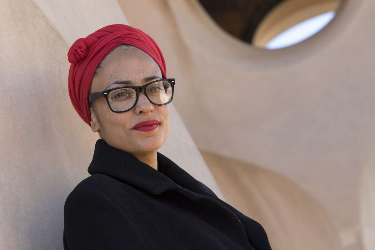 British writter and novelist Zadie Smith (Sadie Smith), during a visit to La Pedrera in Barcelona, Catalonia, Spain on December 4, 2017 (Photo by Miquel Llop/NurPhoto via Getty Images)