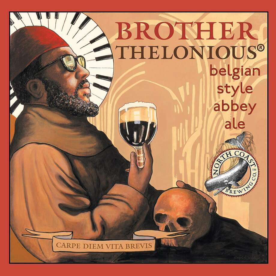 North Coast Brewing Co. Brother Thelonious Belgian-style abbey ale label. Photo: North Coast Brewing Co.