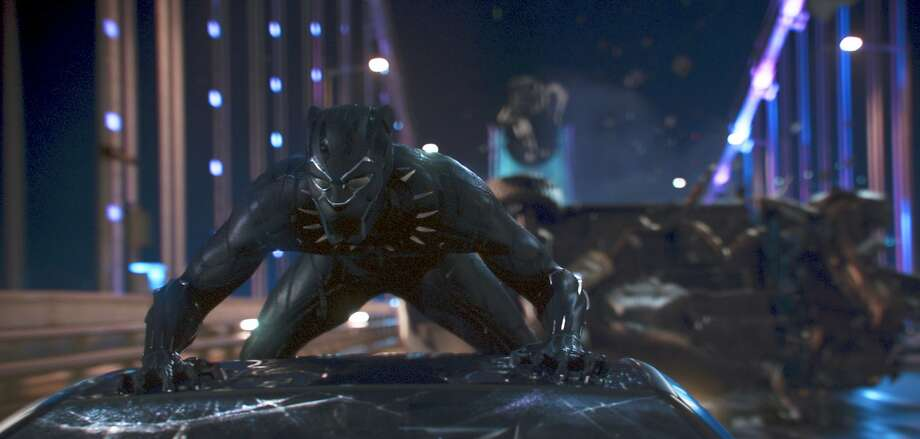 "This image released by Disney shows a scene from Marvel Studios' ""Black Panther."" (Matt Kennedy/Marvel Studios-Disney via AP) Photo: Matt Kennedy, Associated Press"