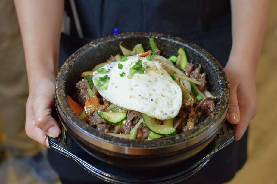 Dolsot Bibimbap at Tasty Ko Photo: Mai Pham