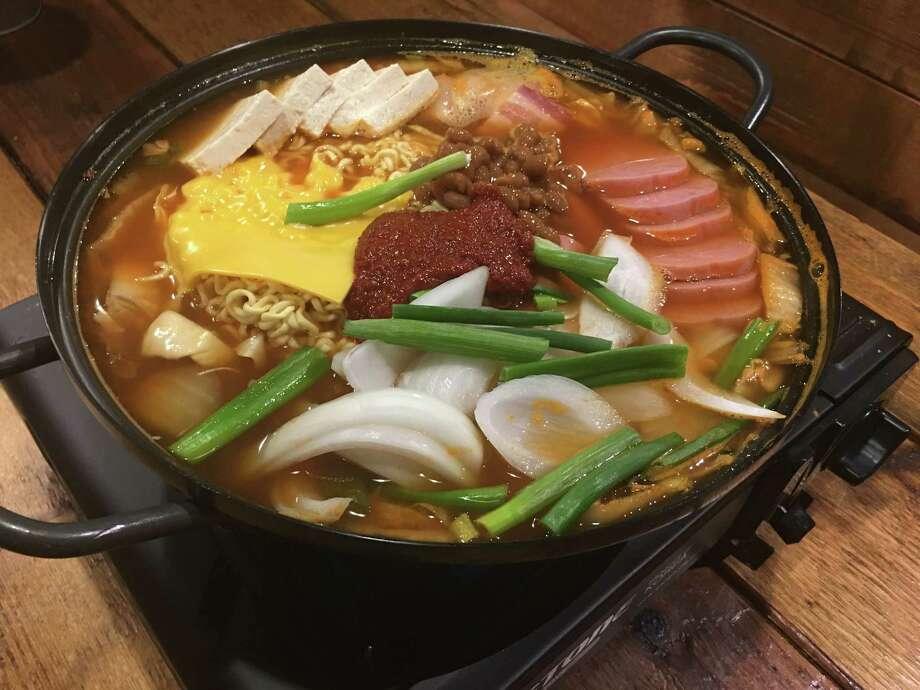 Budae Jjigae at Ohn Korean Eatery Photo: Mike Tran