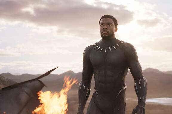 Marvel Studios' BLACK PANTHERT'Challa/Black Panther (Chadwick Boseman)Ph: Film Frame