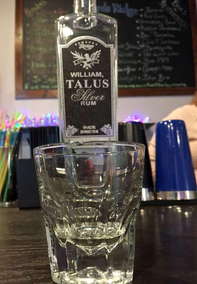 Sample of white rum at Edwards Ridge Distillery. Photo: Paul Stephen / San Antonio Express-News