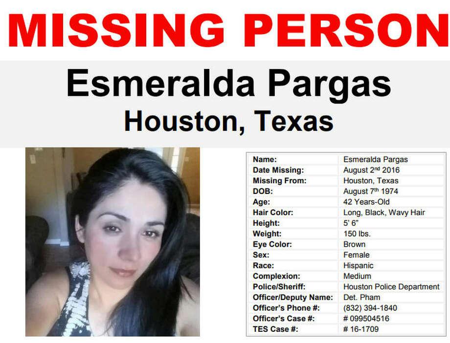 Esmeralda Pargas went missing in Houston two years ago.