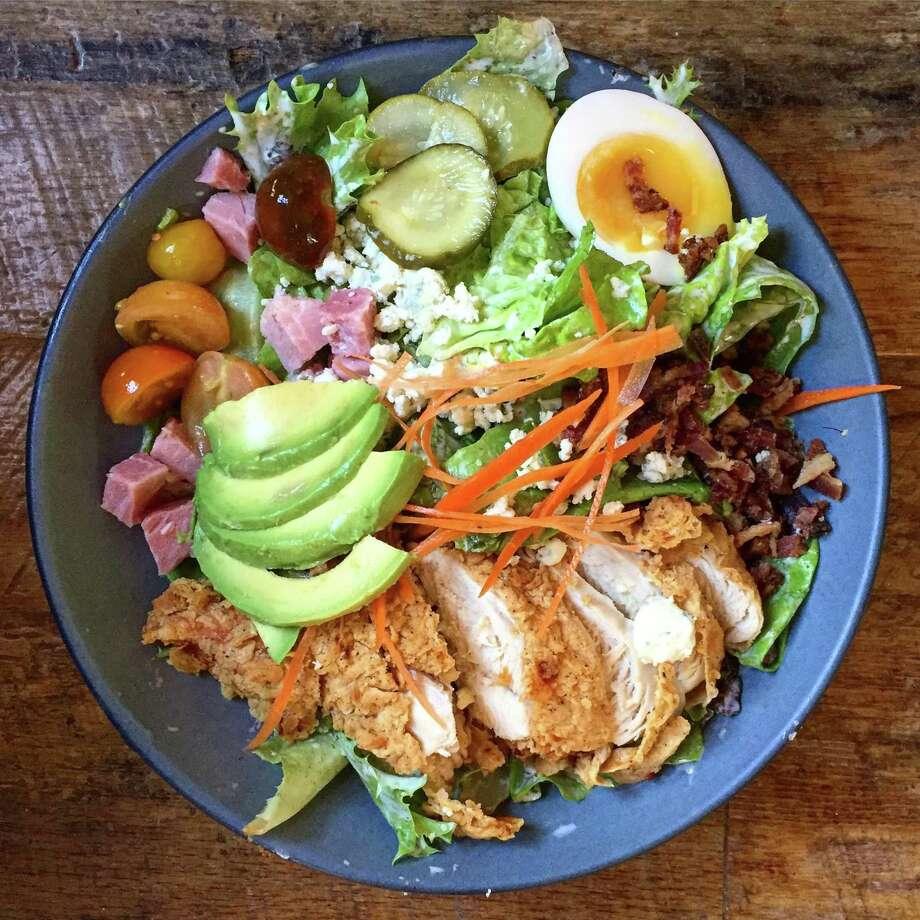 Cobb salad at Southerleigh Fine Food & Brewery. Photo: Paul Stephen / San Antonio Express-News