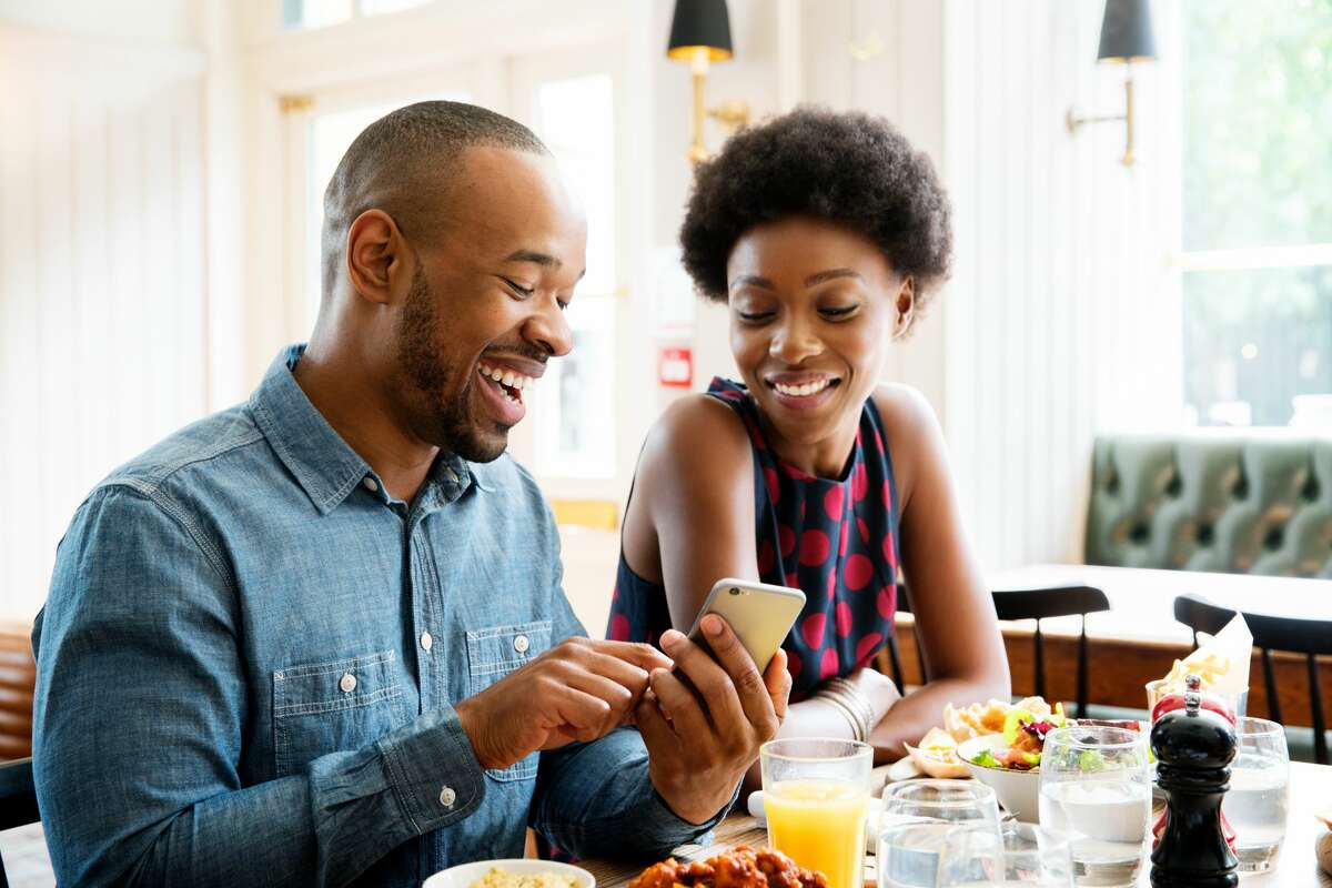Dating with technology 20 percent of those surveyed said they most recently went on a first date with someone they met online.