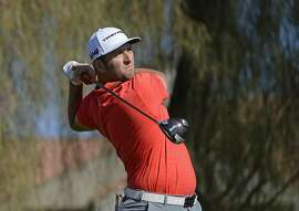 SCOTTSDALE, AZ - FEBRUARY 04:  Jon Rahm of Spain watches his tee shot on the second hole during the final round of the Waste Management Phoenix Open at TPC Scottsdale on February 4, 2018 in Scottsdale, Arizona.  (Photo by Robert Laberge/Getty Images)